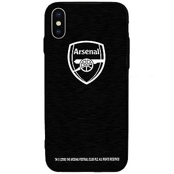 Arsenal iPhone X alumiini asia