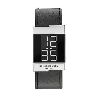 Kenneth Cole New York dames horloge lederen horloge digitale KCC0168001