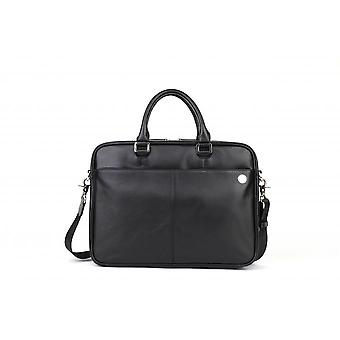 Classic Briefcase Bag - Leather