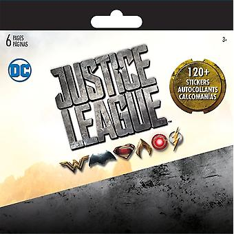 Mini Stickerland Pad 6 pages Justice League New st2343