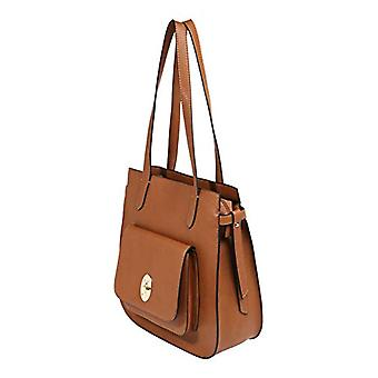 Tom Tailor ACC Krystal-Brown kvinnors tote bags (Cognac) 31x 31.5 x 10.5 cm (b x H L)