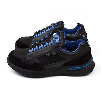 Prada Calzature Uomo Sneakers Nero Voyage