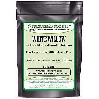 White Willow - 50% Salicin (HLC) - Natural Bark Extract Powder (Salix alba)