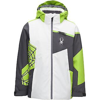 Spyder CHALLENGER Boys Repreve PrimaLoft Ski Jacket White