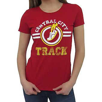 Central City Track Kobiety's T-Shirt