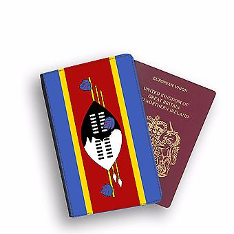 ESWATINI Flag Passport Holder Style Case Cover Protective Wallet Flags design