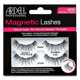 Ardell magnetic Strip Lash dublu #110 pentru femei