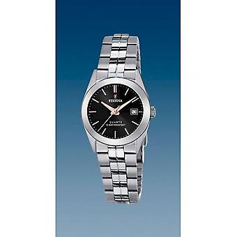 Festina - Wristwatch - Ladies - F20438/C - Steel Strap Classic