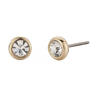 Traveller pierced earring - 22ct gold plated - 145080