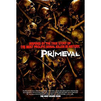 Primeval (Double Sided Regular) Original Cinema Poster