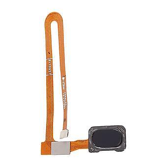 Capteur d'empreintes digitales pour OnePlus 6 Jet Black Flex Cable Spare Part Repair Accessoires Flex