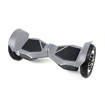 Hoverboard Skateflash K10n sølvgrå