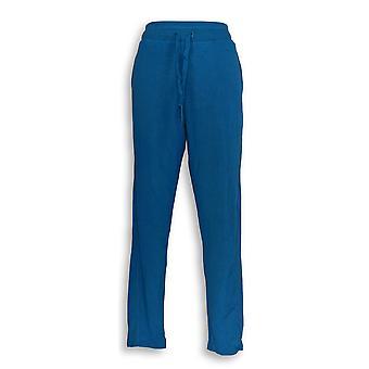 Cuddl Duds Women's Pants Ultra Soft Comfort Slim Blue A346815