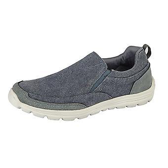 Dek Mens Memory Foam Slip On Shoes