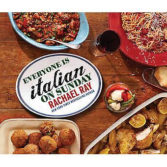 Alla är italienska på söndag av Rachael Ray - 9781476766072 bok