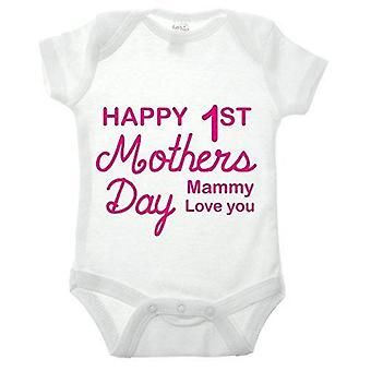 Baby's 1st mothers day babygrow