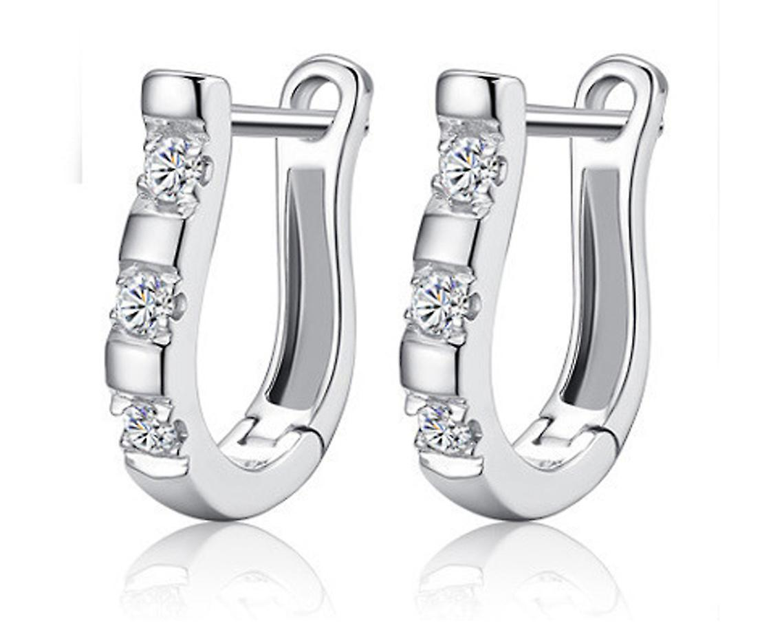 Choice of drop crystal earrings