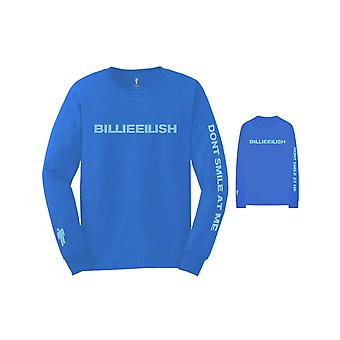 Billie Eilish T Shirt Dont Smile at Me Logo new Official Long Sleeve Unisex