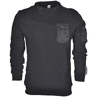 883 Police Phantom Typhon Black Sweatshirt