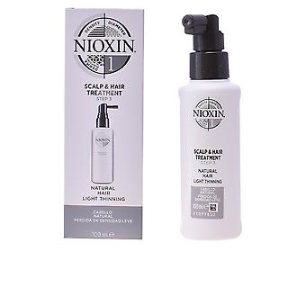 Nioxin System 1 cuir chevelu traitement unisexe 100 Ml pour cheveux fins