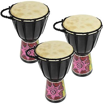 A-Star Mini Trio Djembe Pack