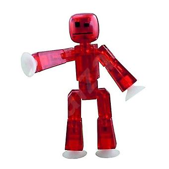 Stikbot Figure Red Translucent Colour