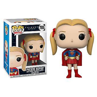 Amigos Phoebe Buffay como Supergirl Pop! Vinilo