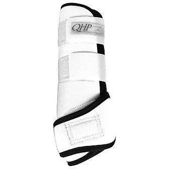 QHP White Neoprene Protectors Air
