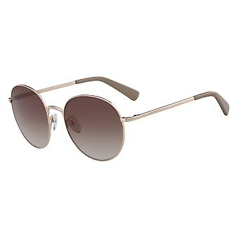 Longchamp LO101S 771 Rose Gold/Brown Gradient Sunglasses