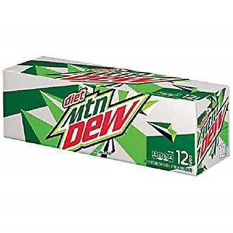 Mountain Dew Diet-( 355 Ml X 12 Bottles )