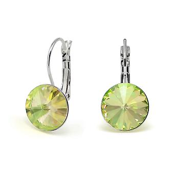 Kristall Ohrringe Luminous Green EMB 1.14