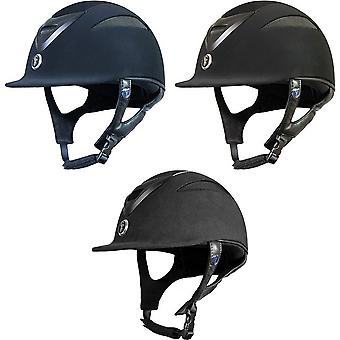 Gatehouse Conquest MKII Suedette Riding Hat