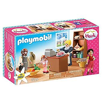 Playmobil 70257 Keller's Family Village Shop Heidi 37PC Playset