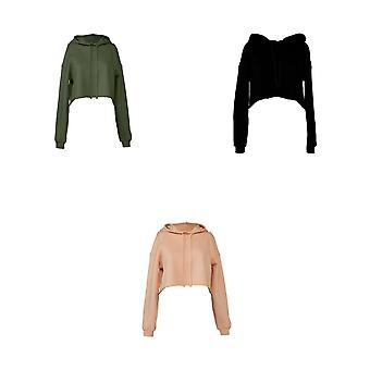 Bella + Canvas Ladies Cropped Hoodie