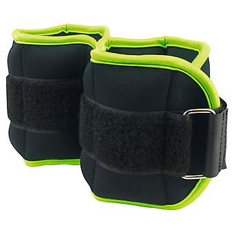 Urban Fitness Home Gym Training Exercise Ankle/Wrist Weights - 1kg