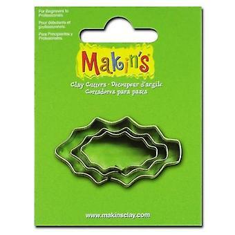 Makin'Clay Cutter holly leaf 2-4 CM