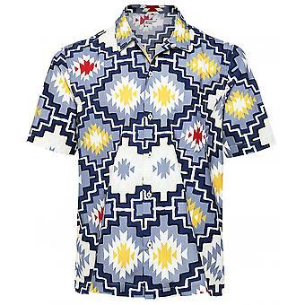 Universal Works Short Sleeve Santa Fe Road Shirt