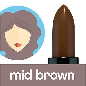 Colorstick ميلو موكا منتصف البني الشعر الجذر الجذر عصا الغطاء