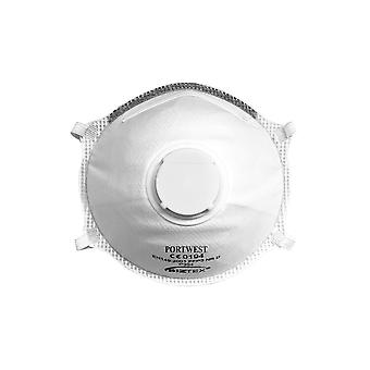 Portwest ffp3 valved dolomite light cup respirator p304