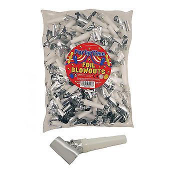 Henbrandt Partytime Foil Blow Outs (Pack de 144)