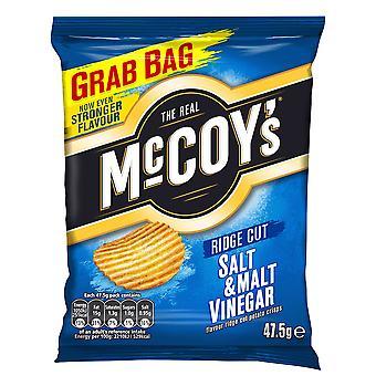 McCoys Salt & Malt Vinegar Flavour Crisps