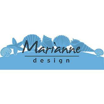 Marianne Design Creatables Tnące Matryce - Muszle morskie Graniczne LR0601 135x30.5 mm