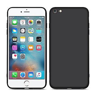 Carcasa de silicona líquida iPhone 6 / 6S - Negro