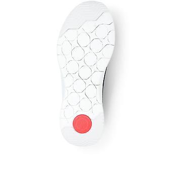 FitFlop Womens Marbleknit Slip-On Sneakers
