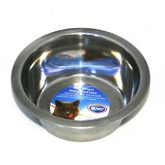 Duvo+ Inox Cat Feeder 300Ml / 11cm (Cats , Bowls, Dispensers & Containers , Bowls)