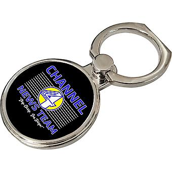 Anchorman Channel 4 News Team Logo Phone Ring