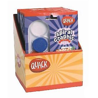 Quack Spiral Graphic Petite