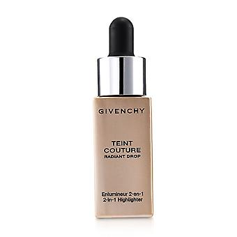 Teint couture radiant drop 2 in 1 highlighter # 02 radiant gold 230942 15ml/0.5oz