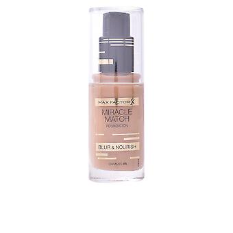 Max Factor Miracle Match Blur & Nourish Foundation #90-toffee For Women