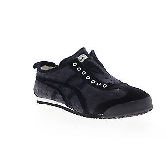 Onitsuka Tiger Mexico 66  Mens Black Suede Low Top Sneakers Shoes